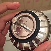 passoire d 39 evier supmaker en acier inoxydable pour la cuisine salle de bain bassin vier. Black Bedroom Furniture Sets. Home Design Ideas