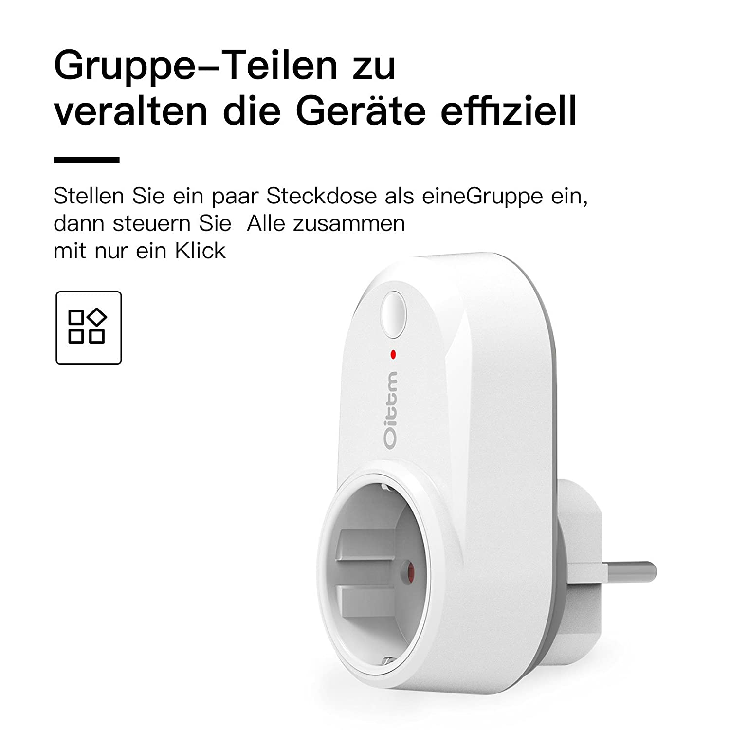 Oittm Smart Plug Funktioniert mit Alexa Smart Home: Amazon.de ...