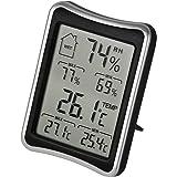 HONESTEAST デジタル温湿度計 室内 温度計 湿度計 最高最低温湿度表示 置・掛兼用