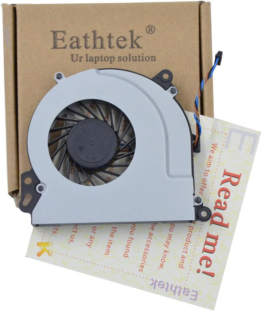 Eathtek Replacement CPU Cooling Fan for HP Envy 15-J 15 15T 15-T Envy 17 720235-001 720539-001 M7-J010DX Series