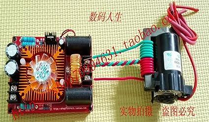 ignition coil DC 12-30V ZVS Tesla coil flyback driver// SGTC //Marx generator