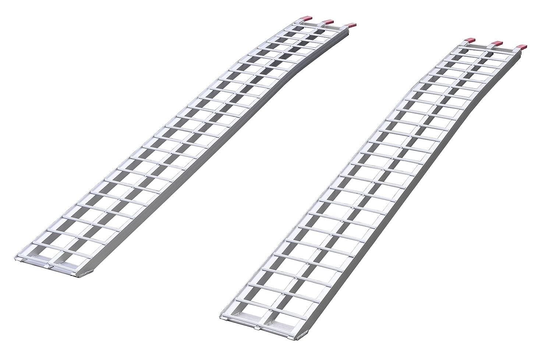 Aluminum Folding Ramps >> Amazon Com Field Tuff Alr 8411a Aluminum Folding Ramp Garden Outdoor