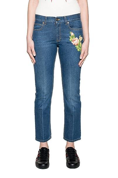 finest selection 8a034 dd73c Gucci Jeans Donna 449577Xr5034205 Cotone Blu: Amazon.it ...