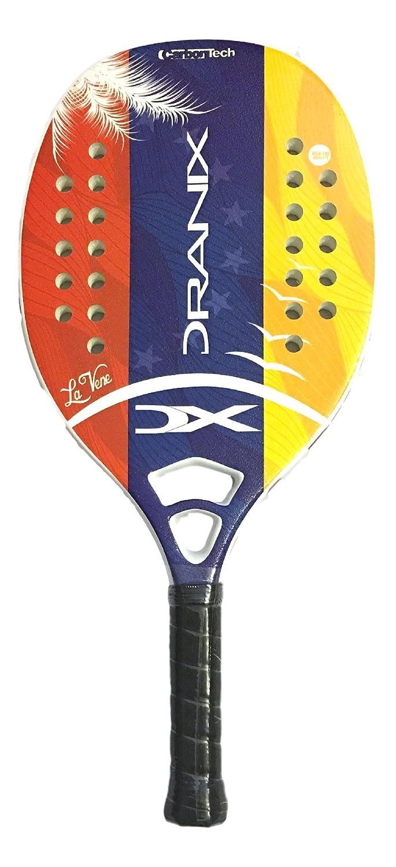Amazon.com : Dranix La Vene Beach Tennis Paddle Racquet - Grip 4 1/4