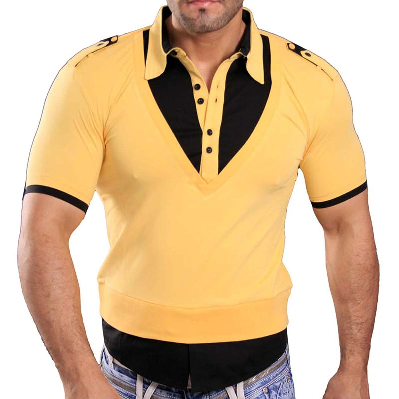 Rusty Neal Manga Corta - Camiseta de Polo Polo Camisa Style ...