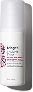 product image for Briogeo Farewell Frizz Rosarco Milk Leave In Conditioning Spray, 5 oz - Coconut Oil & Argan Oil - Anti Frizz Hair Products - Natural Leave in Conditioner Suitable for Straight, Wavy and Curly Hair