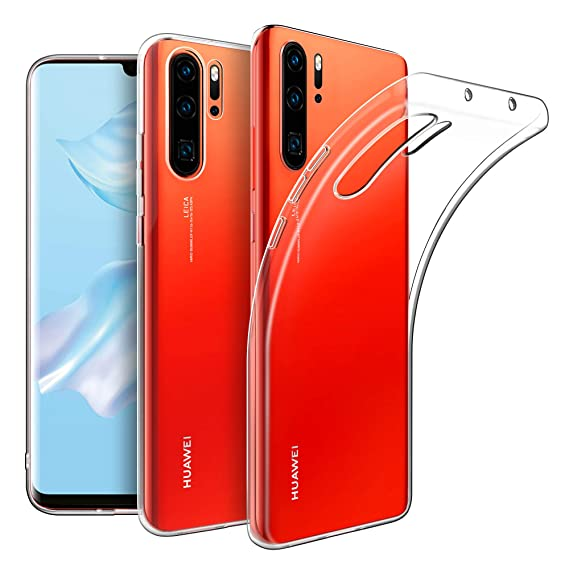 Amazon.com: EasyAcc Crystal Clear Case for Huawei P30 Pro ...