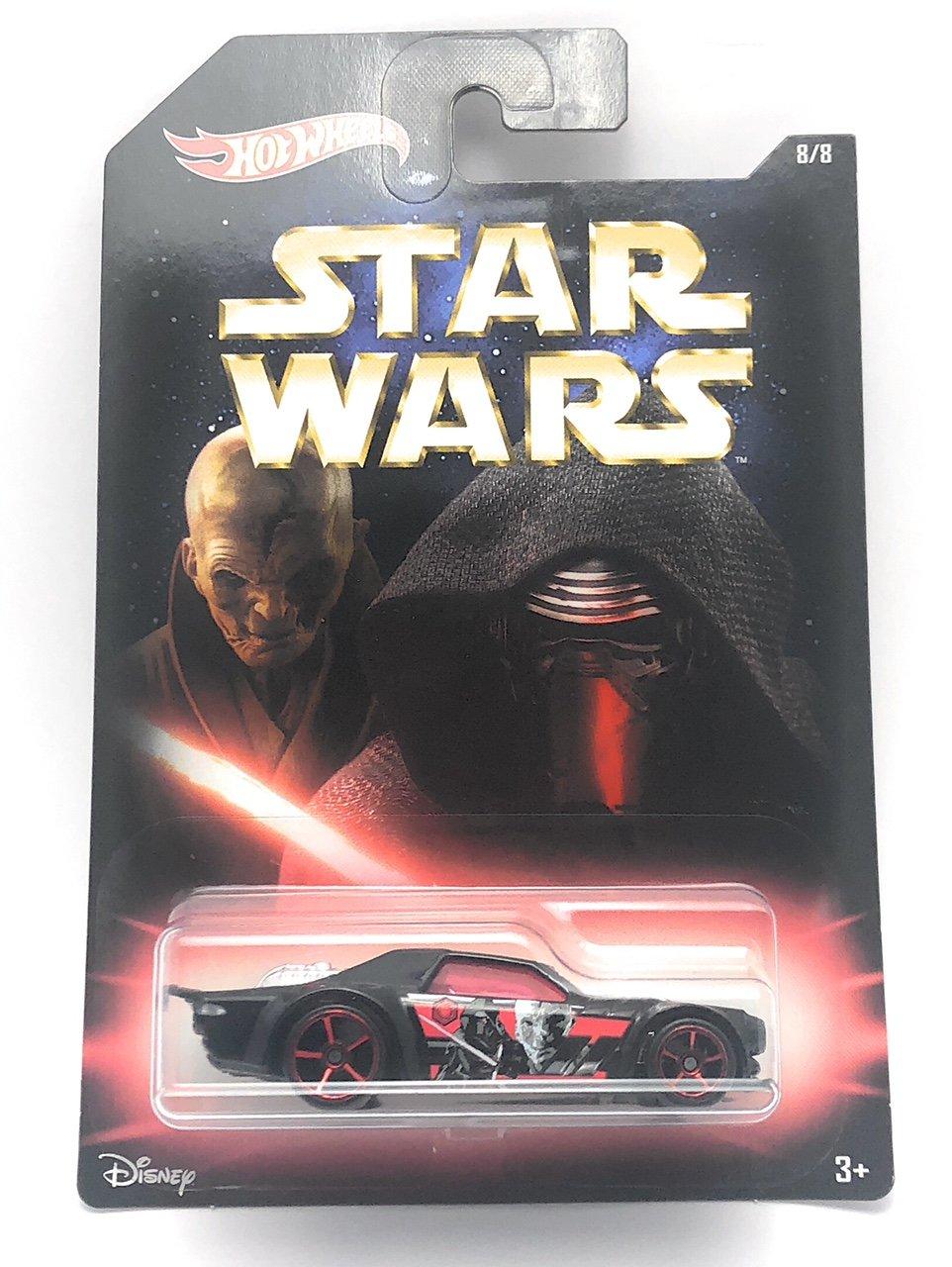 Hot Wheels Star Wars Variations 1//64 Scale Die Cast Cars 2//8 Master and Apprentice Asphalt Assault HW Series Diecasts