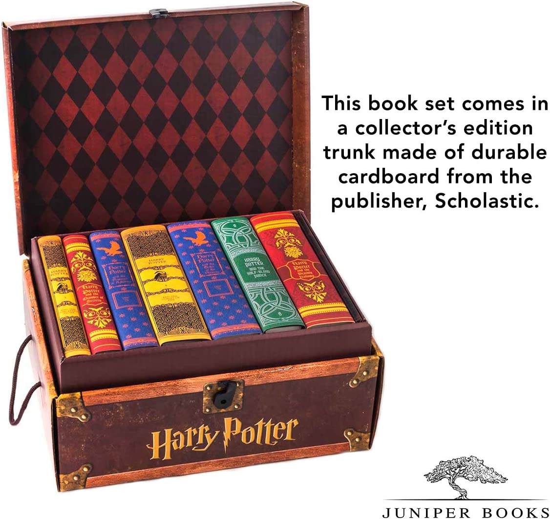 Juniper Books Harry Potter Mashup House Trunk Set | Juego de Libro ...
