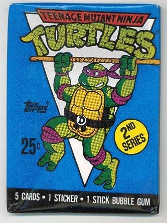 1990 Teenage Mutant Ninja Turtles 2nd Series Sealed Trading ...