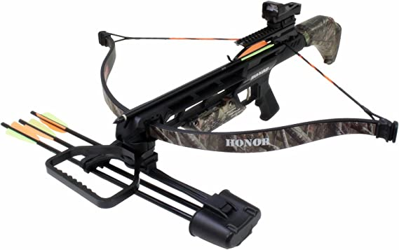 Southland Archery Supply SAS Honor 175lbs Recurve Crossbow Red Dot Scope Package
