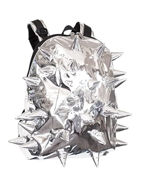 efb4acb64a Madpax 3D Metallic Extreme Beyond Thunder Design Silver Half Pack Back Pack   Amazon.co.uk  Clothing