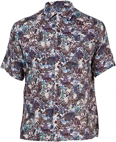 Loreak Mendian Camisa Manga Corta Kechiloa Shirt Multicolored ...
