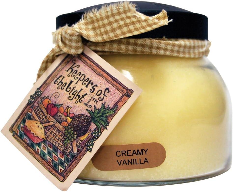 A Cheerful Giver Creamy Vanilla Papa Jar Candle 34-Ounce