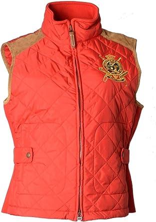Polo Ralph Lauren Sport para mujer rojo chaleco 100% auténtica ...