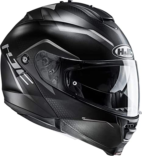 HJC IS-MAX II schwarz Klapphelm Gr. L