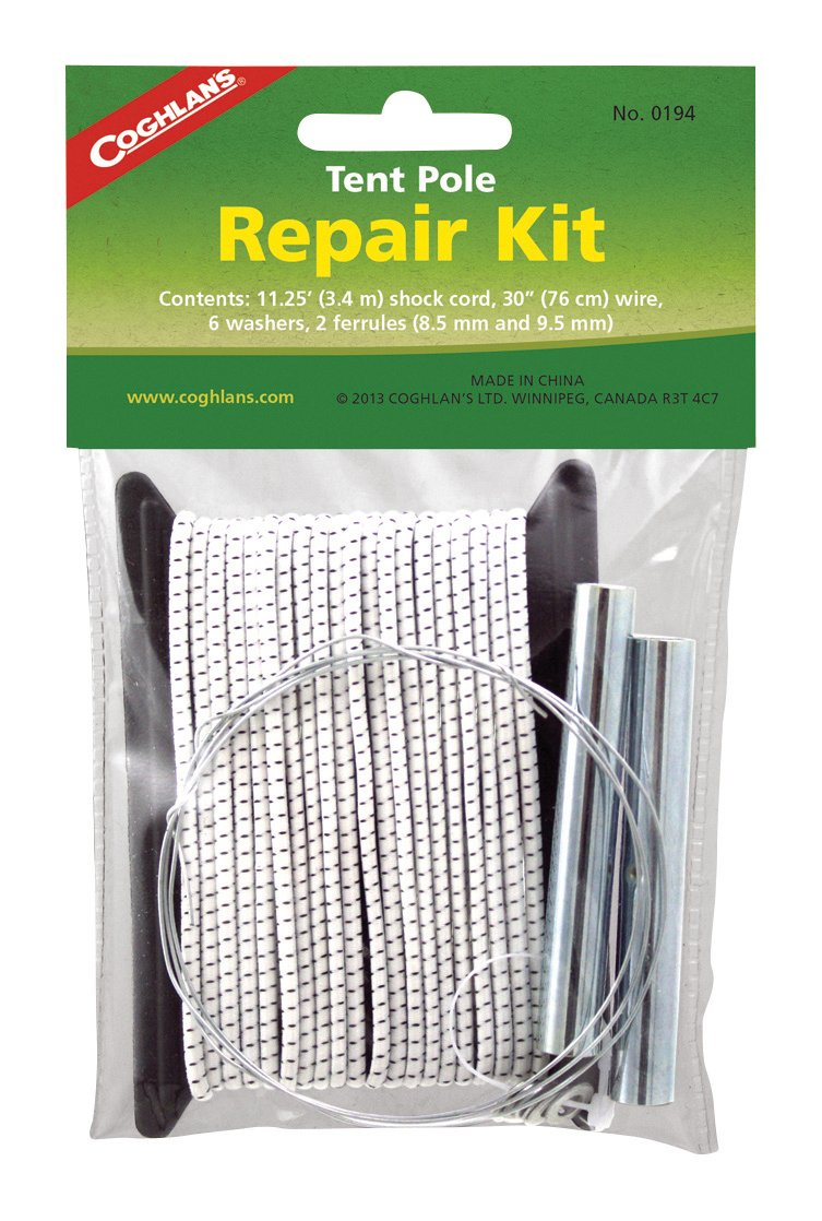 Coghlans Tent Pole Repair Kit  sc 1 st  Amazon.com & Amazon.com : WEANAS Aluminum Rod Tent Pole Replacement Accessories ...