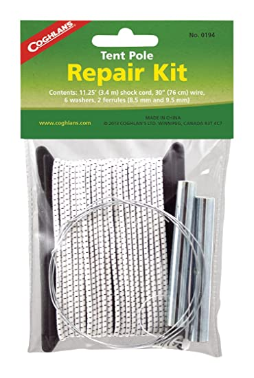 Amazon.com  Coghlanu0027s Tent Pole Repair Kit  Lawn And Garden Tool Accessories  Sports u0026 Outdoors  sc 1 st  Amazon.com & Amazon.com : Coghlanu0027s Tent Pole Repair Kit : Lawn And Garden Tool ...
