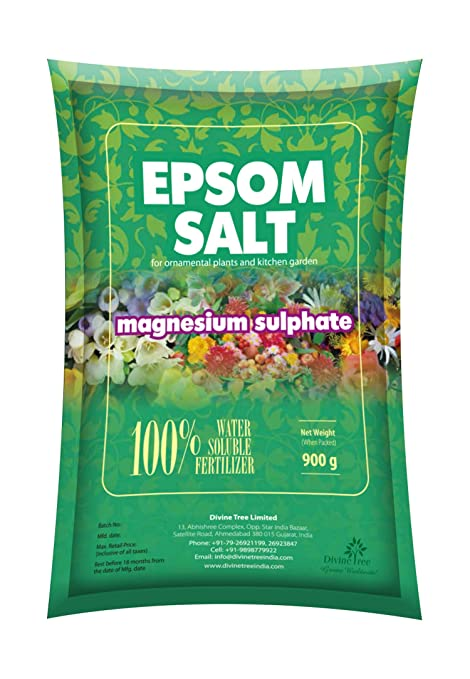 Buy Divine Tree Epsom Salt For Plants Gardening Magnesium Sulfate Water Soluble Fertilizer 5 Kg Online At Low Prices In India