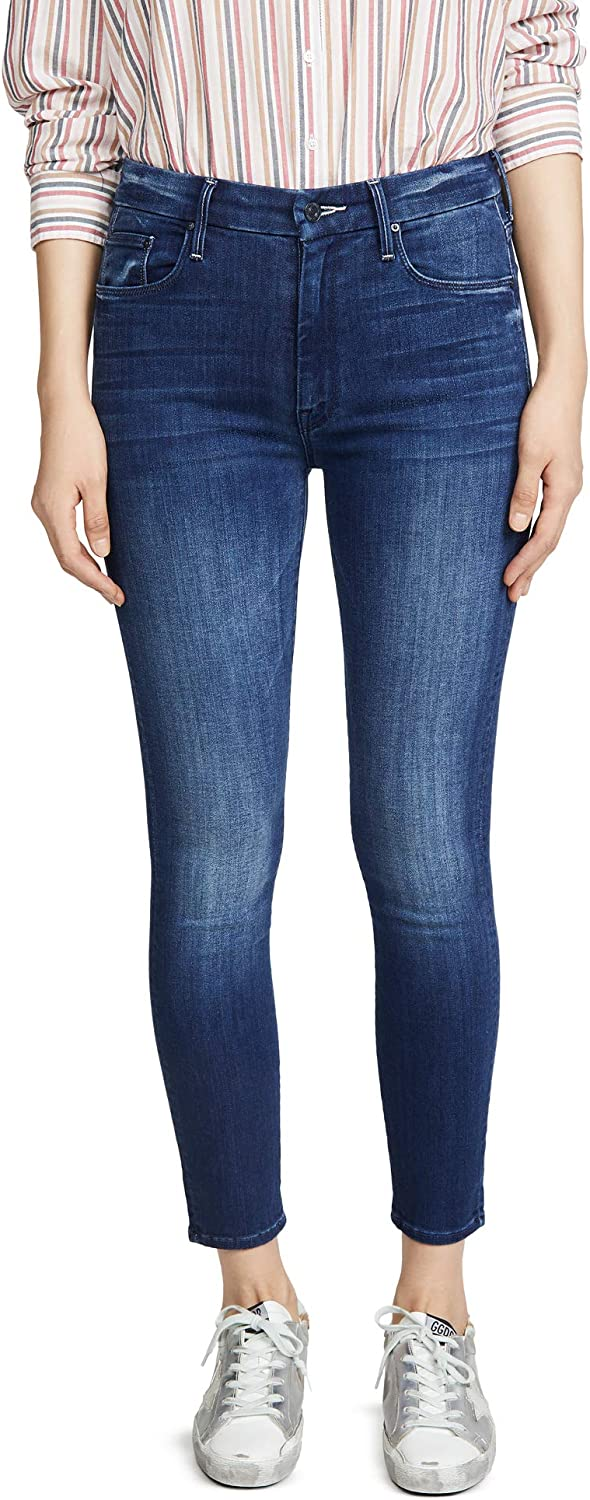 MOTHER Women's High-Waisted Looker Ankle Jeans