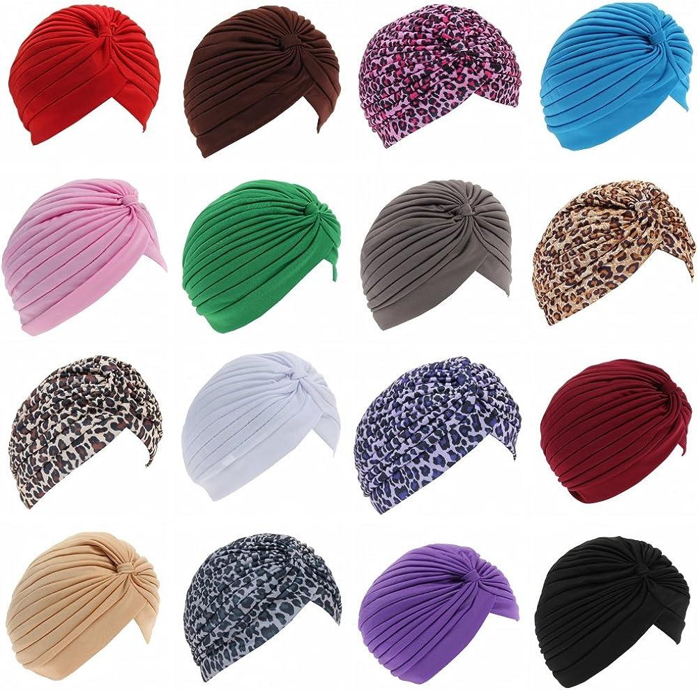 Turbante para mujer Just Fox en diferentes colores Einfarbig Lila Talla /única
