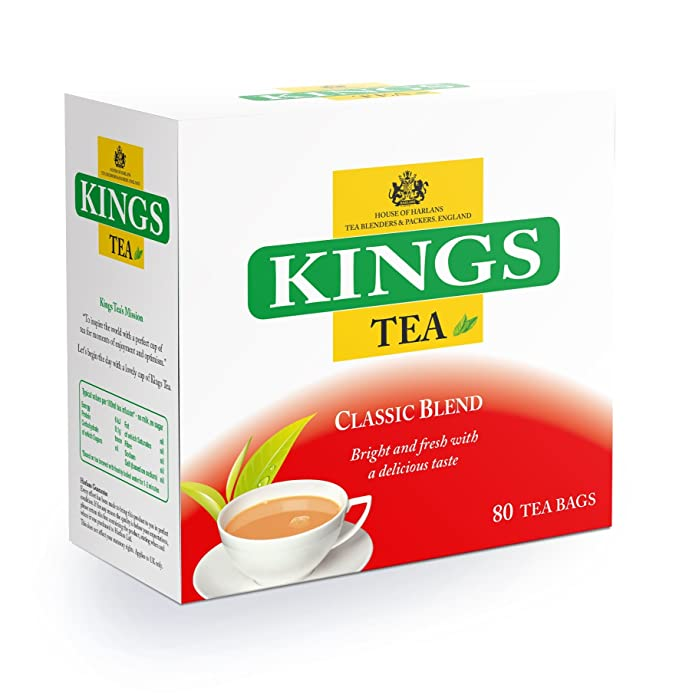 Kings Tea, Classic, (Kings Label), 400 bolsitas de té, 5