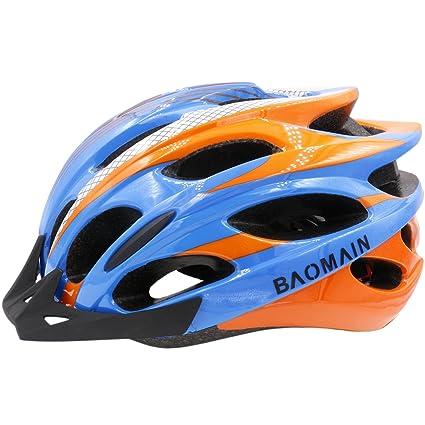 Amazon Com Baomain Adjustable Thrasher Adult Bicycle Helmet For