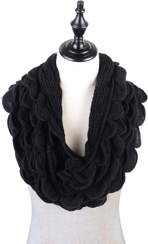Women Knit Infinity Scarf...