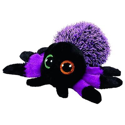 Ty- Beanie Boos Halloween Creeper-Araña Púrpura 15 cm (37248TY) (United Labels Ibérica: Juguetes y juegos