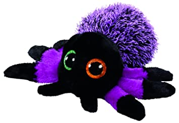 Ty Beanie Boos Halloween Creeper-Araña Púrpura 15 cm (37248TY) (United Labels