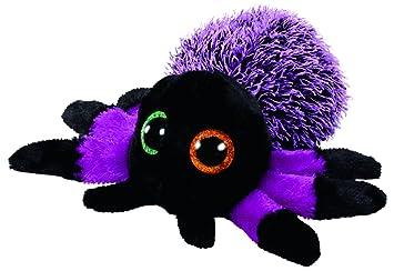 Ty Beanie Boos Halloween Creeper-Araña Púrpura 15 cm (37248TY) (United Labels