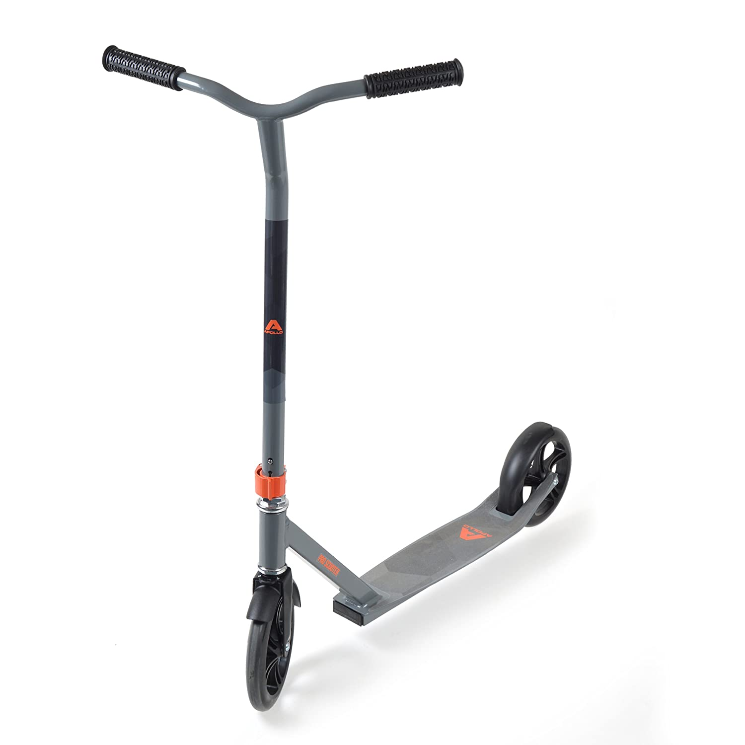 City Scooter - Pro Race gris - Big Wheel City roller - scooter robuste con maniallar especialmente alto para una agradable sensación de desplazamoiento, el patinete de la marca Apollo para niños y adultos … 3S GmbH & Co. KG