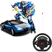 SUPER TOY Steering Control Deformation Transform Robot RC Car Toy