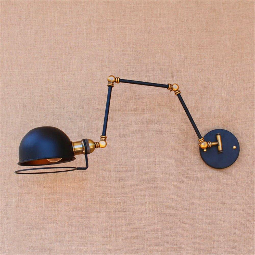 Lámpara de pared lámpara de pared Loft industrial creativo retro balcón corredor largo brazo mecánico de trompeta tres lámpara de pared: Amazon.es: ...