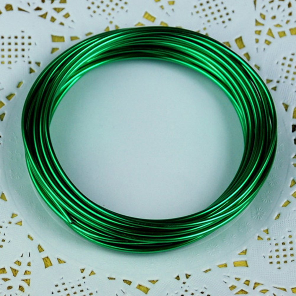 ULTNICE 12pcs Metal Wire Crafts Beading Wire for Jewellery Making ...