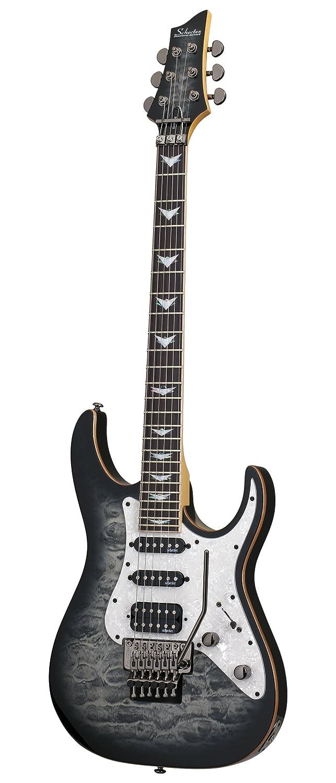 Schecter guitarra Research banshee-6 fr Extreme guitarra eléctrica de cuerpo sólido gris Burst: Amazon.es: Instrumentos musicales