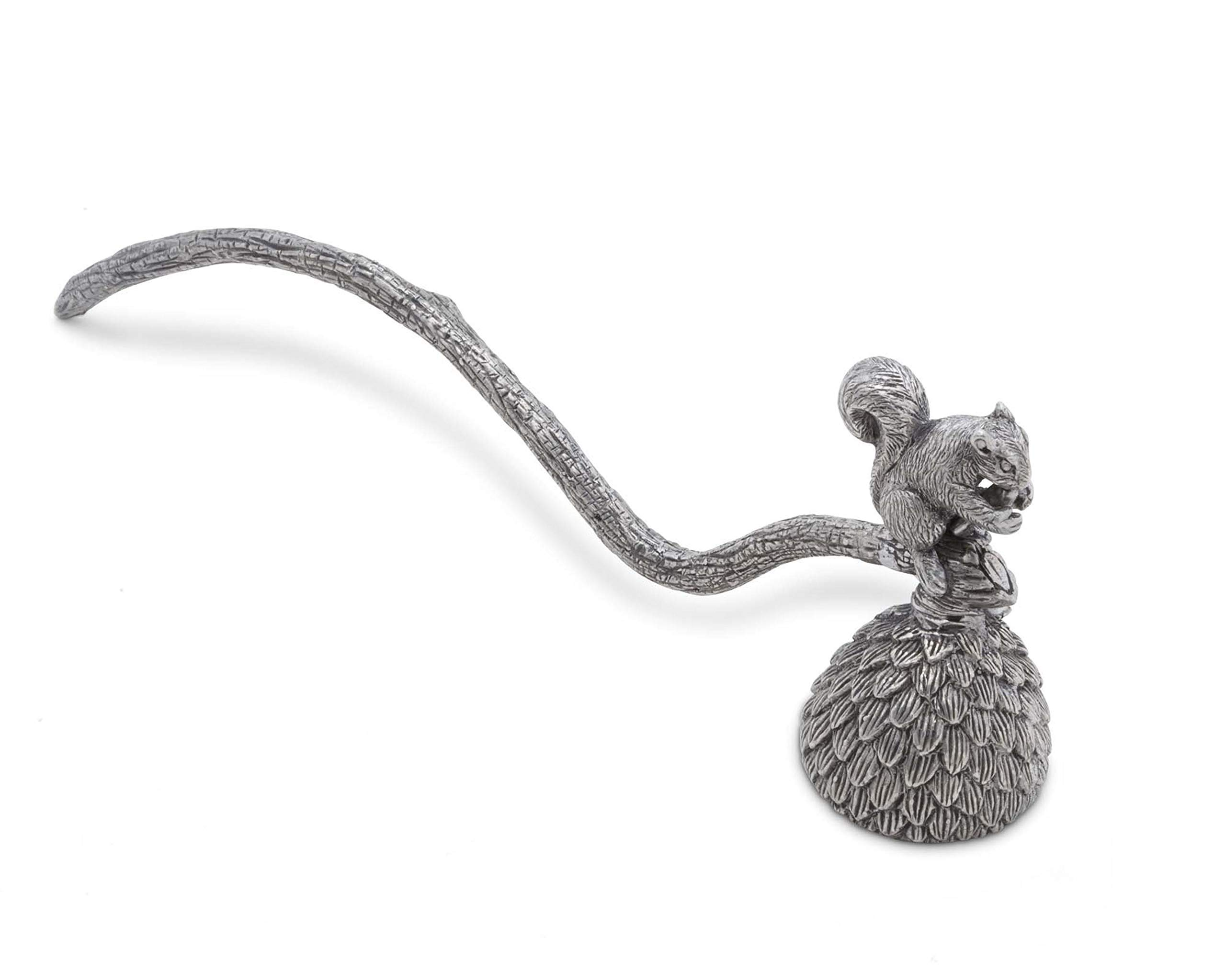 Vagabond House Pewter Squirrel Candle Snuffer 10'' Long by Vagabond House (Image #2)