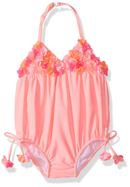 Kate Mack Baby Girls' Tropical Mermaid Bubble Swimsuit Kate Mack Children' s Apparel 750