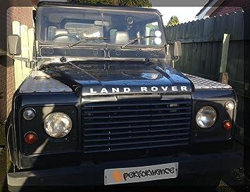 Land Rover Sticker Badge Bonnet Front Emblem Decal Defender 90 110 Letters  TD5