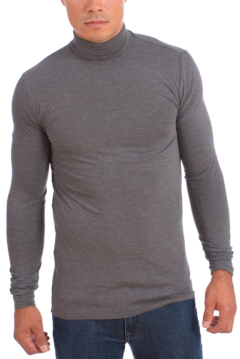 fb5d599da842 POINT ZERO Men s Dri-Fit Turtle Neck Long Sleeve Athletic Peformance ...