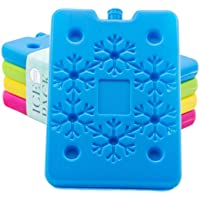 Blue Ele BE01 Ice Pack for Lunch Box and Cooler, BPA Free, Reusable and Long Lasting, Slim and Lightweight Design for…