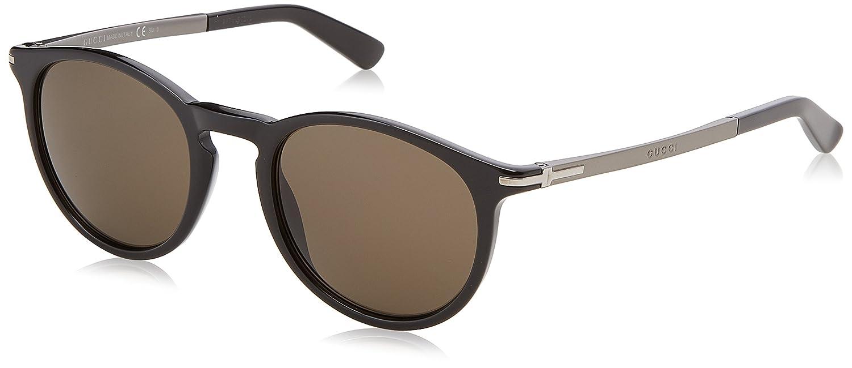 c3fe87bb0b8 Amazon.com  Gucci GG3646 S Sunglasses-03NF Azure (UA Azure Flash Silver  Lens)-60mm  Clothing