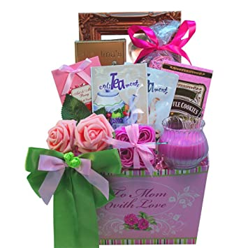 Amazon To Mom With Love Tea And Cookie Gift Basket Gourmet