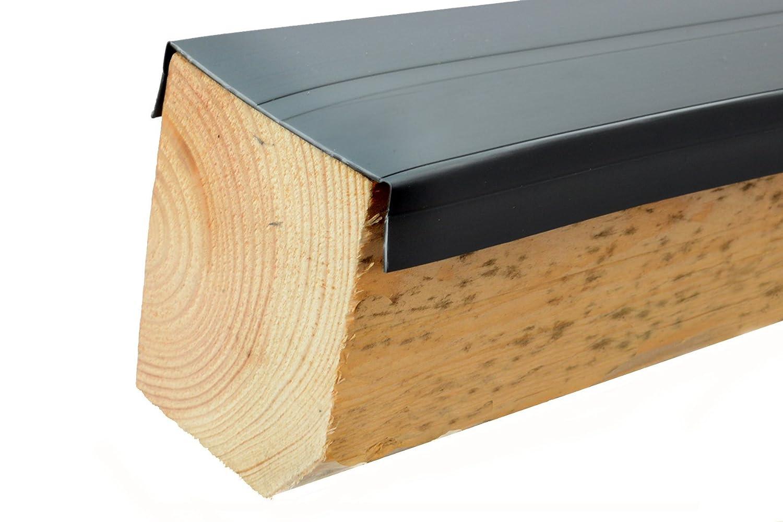 Premium PVC Universal Madera Protección de botones para bajo construcción, 60m, vigas, WPC, BPC, vigas Protección, a partir de 1,50& # x20ac;/lfm, konstruktiver Madera Protección, Terraza, Terraza suelo, Terraza, vigas, protección, fabricado en Alema