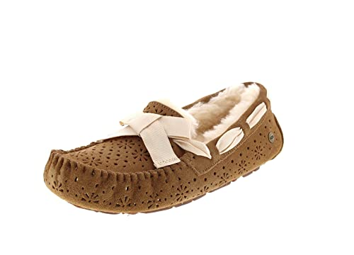 e3b51776bc7 UGG Womens Dakota Sunshine Perf Slipper, Chestnut, Size 8: Amazon.ca ...