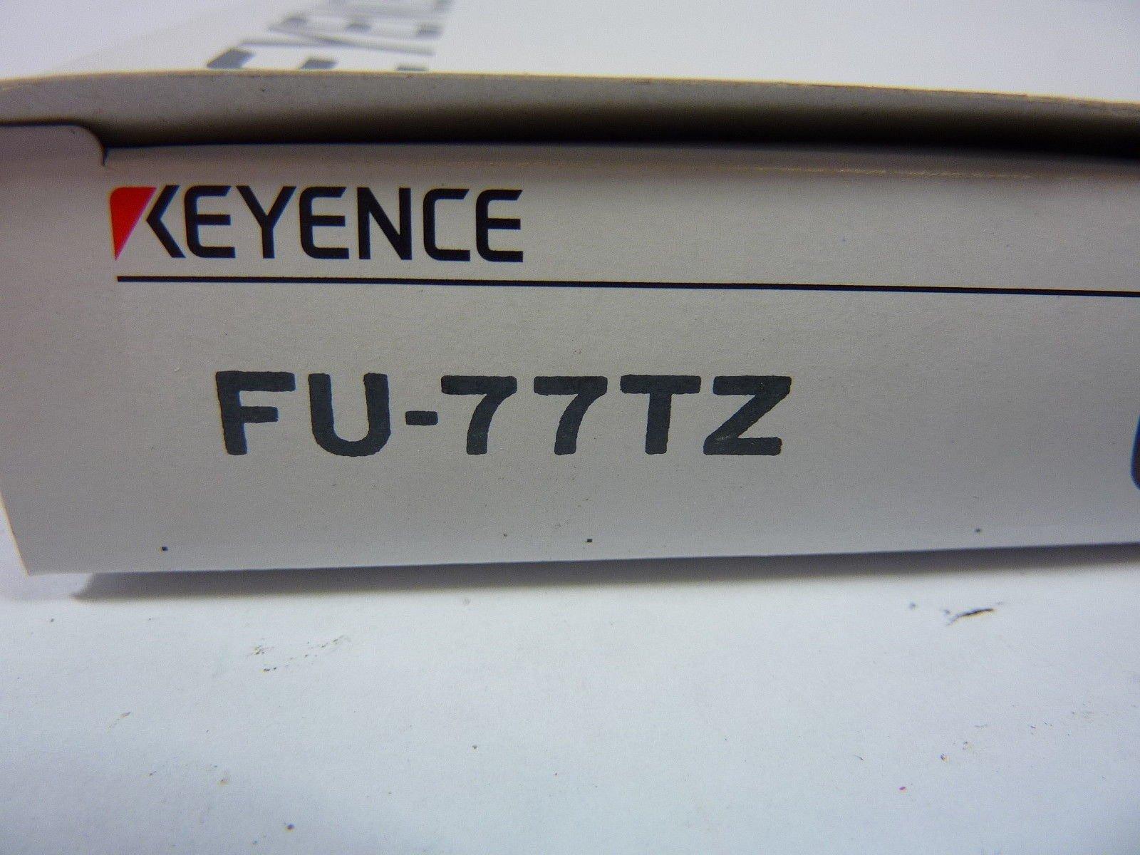 Keyence FU-77TZ Fiber Optic Cable 80 Inches FU77TZ W/ FU Cutter