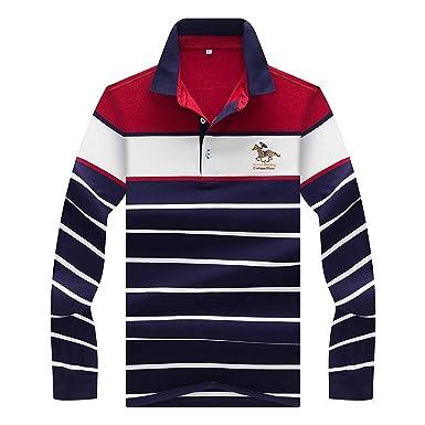 Anaisy Camisas Hombre Hombre Oversize Golf Solapa Polo Manga ...