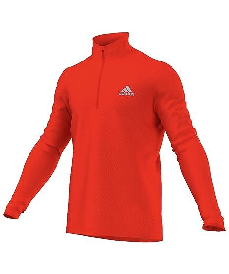 Adidas Supernova camisa de manga larga de running, Hombre, color rojo, tamaño Small: Amazon.es: Ropa y accesorios