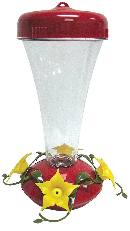 Perky Pet Hummingbird PP122TF top fill Aster feeder