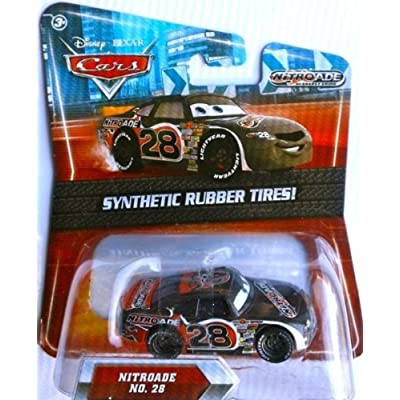 Disney / Pixar CARS Movie Exclusive 155 Die Cast Car with Synthetic Rubber Tires Nitroade: Toys & Games